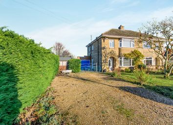 Thumbnail 3 bed semi-detached house for sale in The Stitch, Friday Bridge, Wisbech