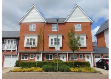 Thumbnail 3 bedroom town house for sale in Chenille Drive, High Wycombe