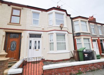 Primrose Road, Birkenhead CH41. 3 bed terraced house for sale