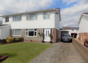Thumbnail 3 bed semi-detached house for sale in Cefn Nant, Pencoed, Bridgend, Bridgend County.