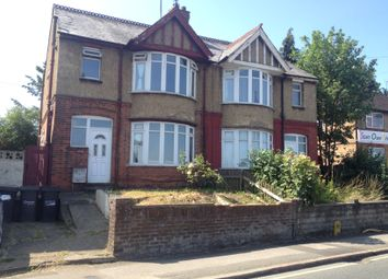 Thumbnail 3 bed semi-detached house to rent in Dallow Road, Luton, Beds