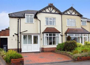 Thumbnail 3 bedroom semi-detached house for sale in Stanley Grove, Basford, Newcastle-Under-Lyme