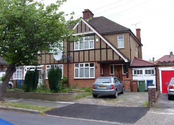Thumbnail 3 bed semi-detached house to rent in Parkthorne Drive, North Harrow, Harrow