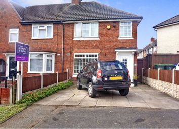 Thumbnail 3 bed end terrace house for sale in Davison Road, Smethwick