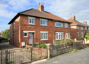 Thumbnail 3 bed semi-detached house for sale in The Fairway, Moorends, Doncaster