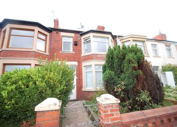 Thumbnail 3 bed terraced house for sale in Ansdell Road, Blackpool
