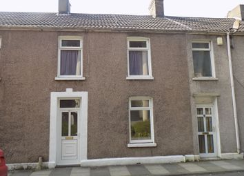Thumbnail 2 bed terraced house for sale in Llewellyn Street, Port Talbot, Neath Port Talbot.