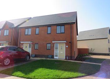 Thumbnail 2 bed end terrace house to rent in Magpie Place, Wymondham