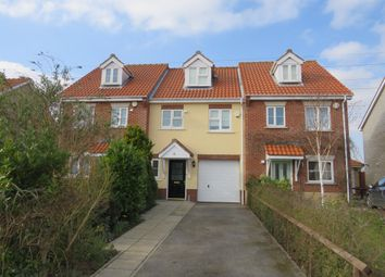 Thumbnail 3 bed terraced house for sale in Broad Fleet Close, Oulton, Lowestoft