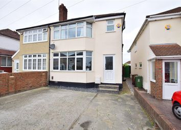 Thumbnail 3 bed semi-detached house for sale in Fairwater Avenue, Welling, Kent