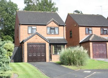 Thumbnail 3 bed detached house to rent in Duxford Close, Headless Cross, Redditch