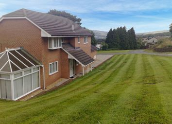Thumbnail 4 bed detached house for sale in Jays Field, Cimla, Neath