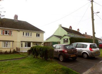 Thumbnail 3 bed semi-detached house for sale in Banc Y Dderwen, Broad Oak, Carmarthen, Carmarthenshire.
