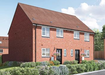 """Thumbnail 3 bed semi-detached house for sale in """"The Eveleigh"""" at Arlesey Road, Stotfold, Hitchin"""