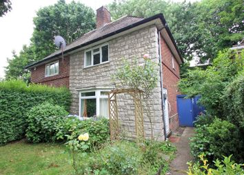 Thumbnail 2 bed semi-detached house for sale in The Wells Road, Mapperley, Nottingham