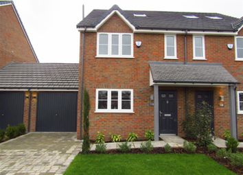Thumbnail 4 bed semi-detached house for sale in Grasmere Avenue, Slough, Berkshire
