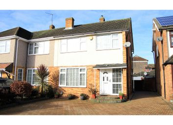 Thumbnail 3 bed semi-detached house for sale in Ashdown Crescent, Cheshunt