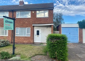 Thumbnail 3 bed semi-detached house for sale in Forest Close, Streetly, Sutton Coldfield