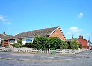 Thumbnail 2 bed semi-detached bungalow for sale in Princes Close, Anstey, Leicester