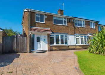 Thumbnail 3 bed semi-detached house for sale in Henley Close, Bury, Lancashire