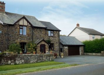 Thumbnail 4 bed semi-detached house for sale in Liftondown, Lifton