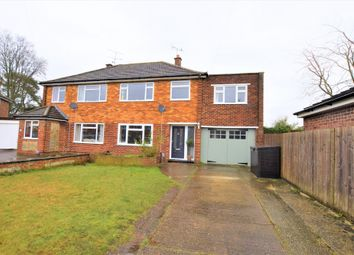 Thumbnail 4 bed semi-detached house for sale in Credon Close, Farnborough