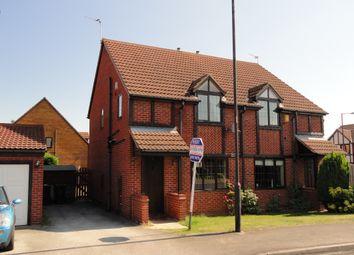 Thumbnail 3 bed semi-detached house for sale in Grace Road, Edlington, Doncaster