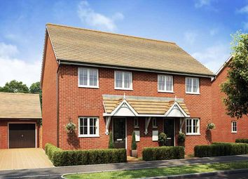 "Thumbnail 3 bed semi-detached house for sale in ""Barwick"" at Broughton Crossing, Broughton, Aylesbury"