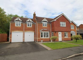 Thumbnail 5 bed detached house for sale in Kingsmead, Stretton, Burton-On-Trent
