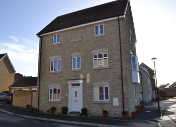 Thumbnail 4 bed town house for sale in Truscott Avenue, Swindon