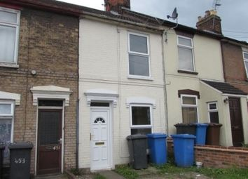 Thumbnail 2 bed terraced house to rent in Bramford Road, Ipswich