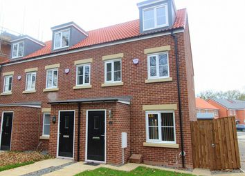 Thumbnail 3 bed town house to rent in Peverell Walk, Darlington