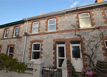 Thumbnail 3 bed terraced house for sale in Waltham Road, Newton Abbot, Devon.