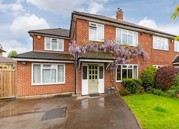 Thumbnail 5 bedroom semi-detached house for sale in Elsworthy, Thames Ditton