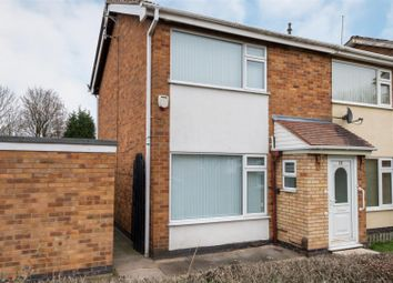 Thumbnail 2 bed semi-detached house for sale in Coachmans Court, Shepshed, Loughborough