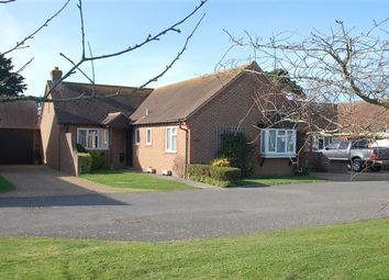 Thumbnail 3 bed bungalow for sale in Holmwood Close, West Wittering, Chichester