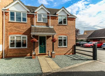 Thumbnail 3 bed semi-detached house for sale in Akita Close, Spalding