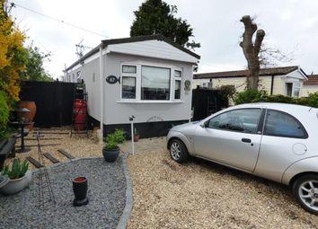 Thumbnail 2 bed mobile/park home for sale in St. Hermans Caravan Estate, Hayling Island
