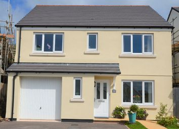Thumbnail 4 bedroom detached house for sale in Cornfield Way, North Tawton