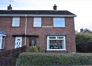 Thumbnail 3 bed end terrace house for sale in Grovehill Avenue, Lisburn