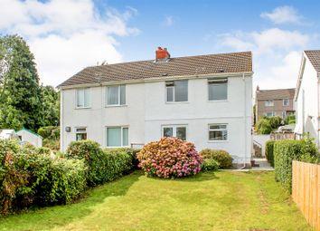 Thumbnail 3 bedroom semi-detached house for sale in Riversdale Road, West Cross, Swansea, West Glamorgan.