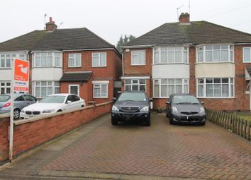 Thumbnail 3 bed semi-detached house for sale in Oadby Road, Wigston