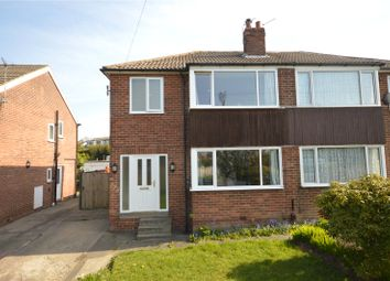 Thumbnail 3 bed semi-detached house for sale in Queensway, Yeadon, Leeds, West Yorkshire