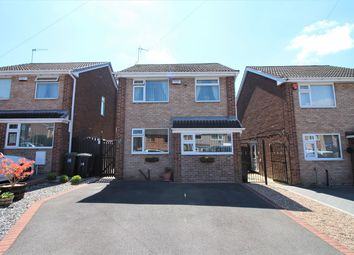 Thumbnail 3 bed detached house for sale in Hackworth Close, Newthorpe, Nottingham