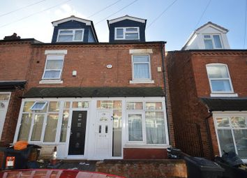 Thumbnail 5 bedroom terraced house to rent in Teignmouth Road, Birmingham, West Midlands.