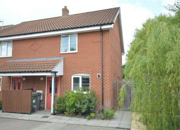 Thumbnail 2 bed semi-detached house for sale in Globe Court, Blofield, Norwich