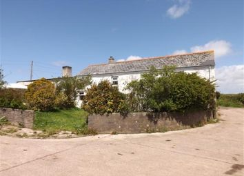 Thumbnail 4 bed farmhouse for sale in Higher Bolitho Farm, Black Rock, Camborne, Cornwall
