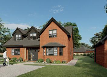 Aldermaston Road, Pamber Green, Tadley RG26. 4 bed detached house for sale