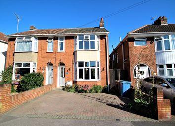 Thumbnail 3 bedroom semi-detached house for sale in Henslow Road, Ipswich