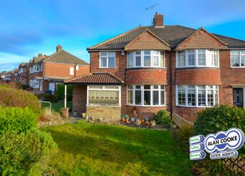 Thumbnail 3 bed semi-detached house for sale in Hillingdon Way, Alwoodley, Leeds